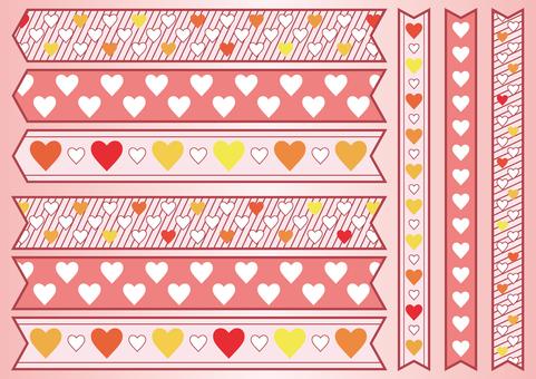 Heart ribbon 03