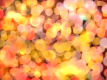 Glittering autumn light