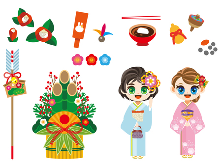 - New Year - An assortment of illustrations