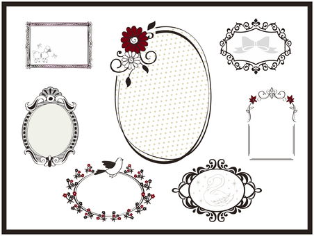 Fashionable frame