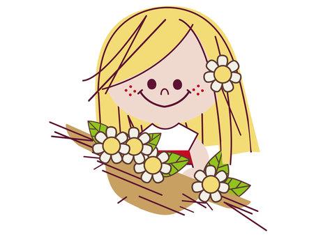 Много цветов ♪