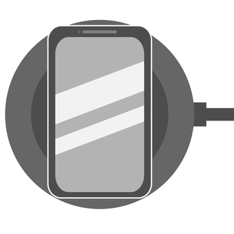 Wireless charging for smartphone