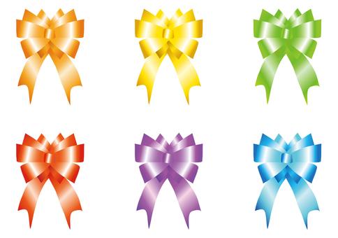 Ribbon 6 colors