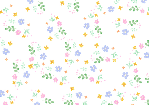 Background material 024 Girly flowers
