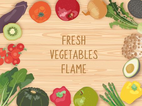 Vegetable frame _2