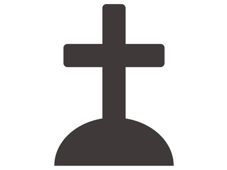 Halloween icon _ grave