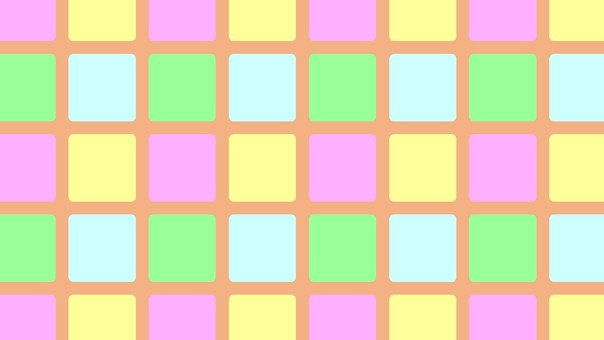 Tile (pastel color)