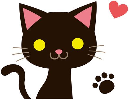 猫キャラクター:クロネコ