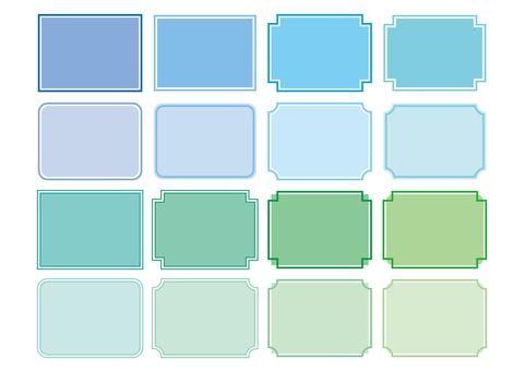 33-frame / decorative frame set 2