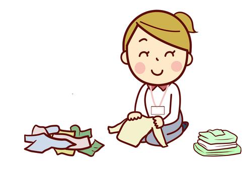 Laundry tatami