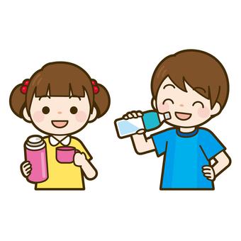 Hydrating children