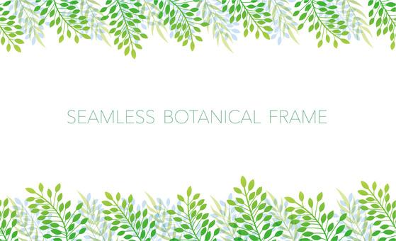 無縫的植物框架