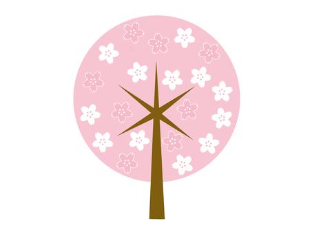 Design Sakura tree 13