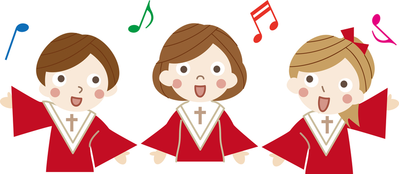 Christmas material 18 (Children's choir)