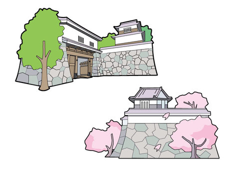 Fukuoka castle