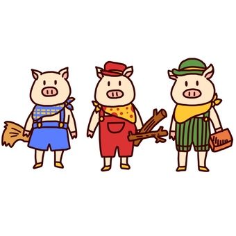 Fairy Tale Three Little Pigs