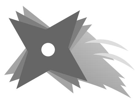 Flying shuriken