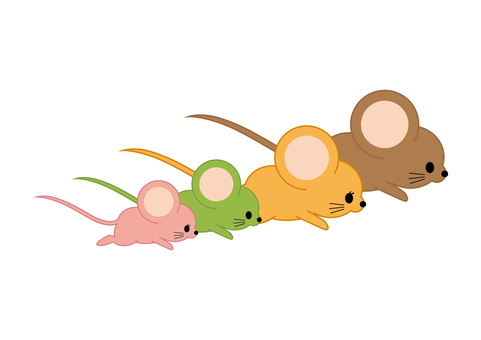 Mouse Illustration 08