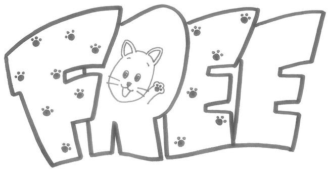 free logo Cat cat