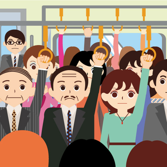 Train (commuter train / commuter rush)