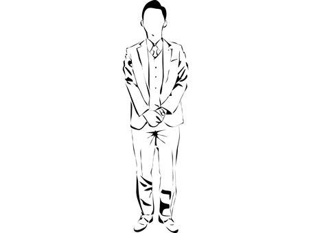 Cut suit male 1