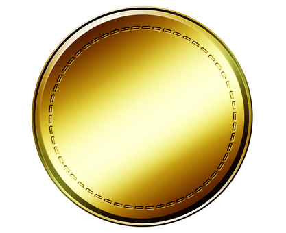 Gold coin gold medal coin