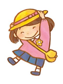 A_ kindergarten_ girl