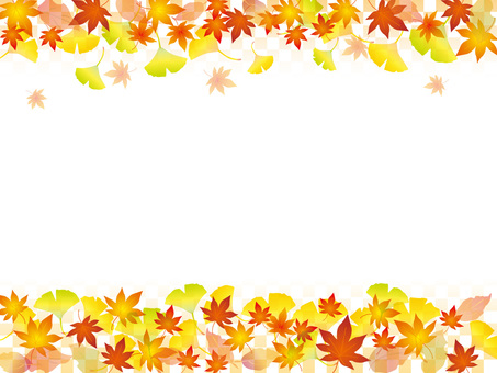 Japanese paper _ autumn leaves pattern 2 _ CS 6