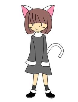 Cat ear girl