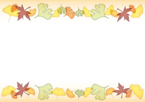 Autumn decoration line · Beige