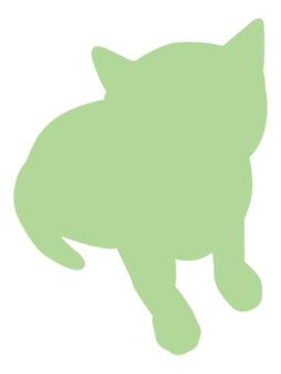 Cat's silhouette 23