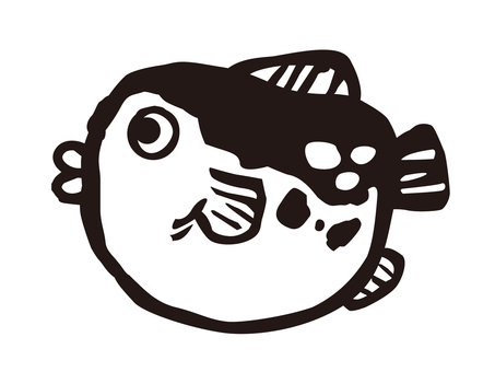 Fugu black and white