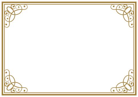 Elegant frame 004
