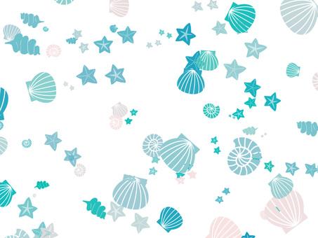 Seashell background ver 01