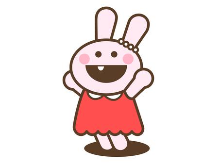 Joy rabbit