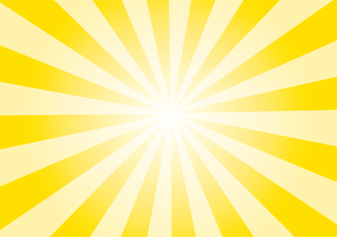 Radial background yellow