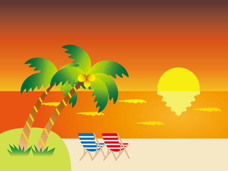 Sunset Beach (Orange)