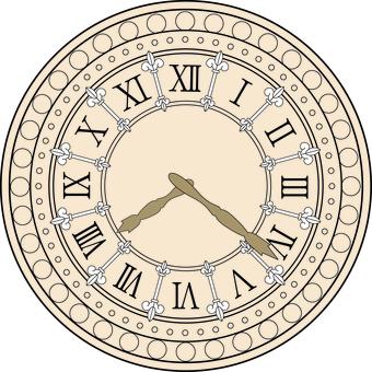 European clock