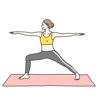 Yoga, women, woman