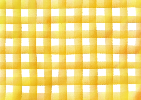 Check patterned watercolor texture · Yellow