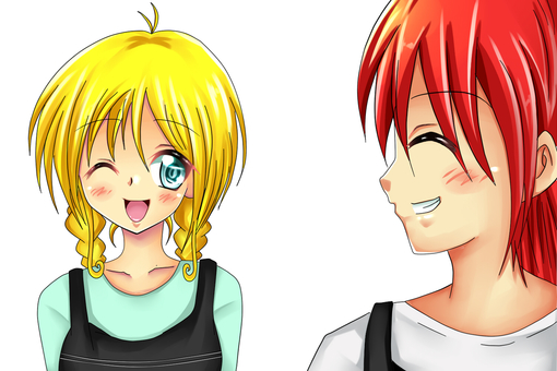 Shizuku and Rupu