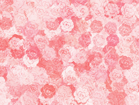 Rose background (red type)