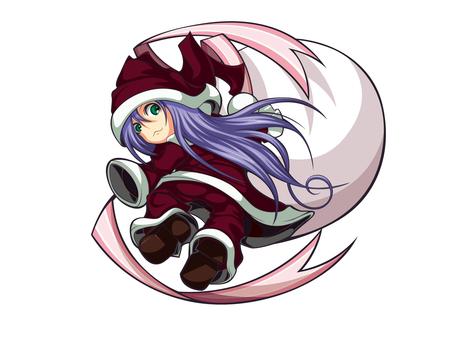 Santa girl 1
