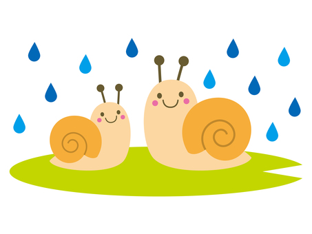 Parent and child of snail