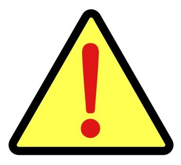 Warning mark