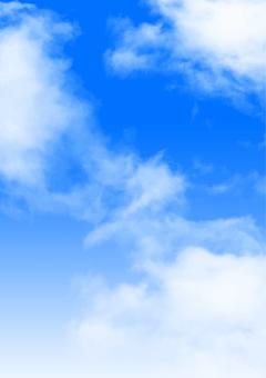 Clouds and sky · gradation e