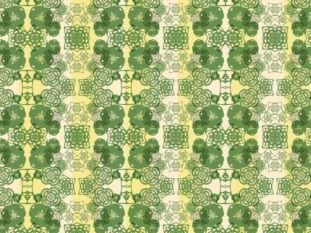 Japanese Pattern Background (Green)