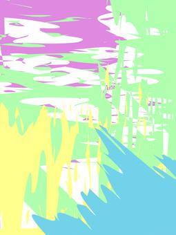 Paint pattern (pastel)