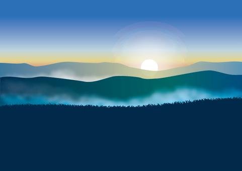 황혼의 산 3