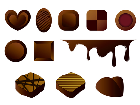 Chocolate material